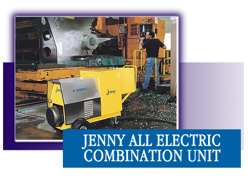 All Electric Combination Steam Cleaner and Pressure Washer and Power Washer