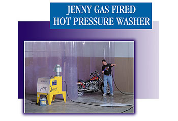 Gas Fired Hot Pressure Washers and Gas Fired Hot Power Washers