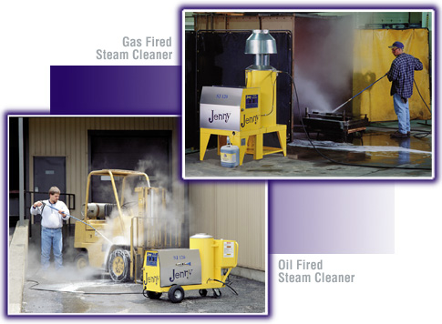 Steam Jenny Steam Cleaner and Steam Generator and Pressure Washer