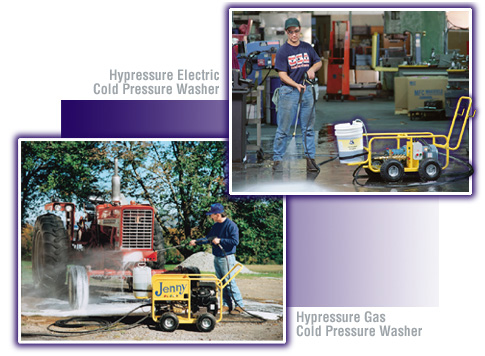 Cold Pressure Washer and Gasoline Power Washer